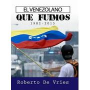 El Venezolano - eBook