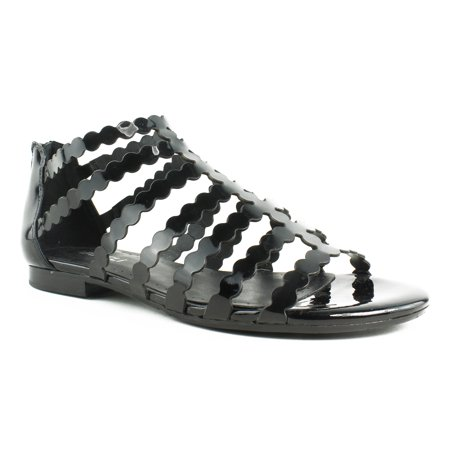 VANELi Womens Emele436791-001 BlackPatent Sandals Size 5.5