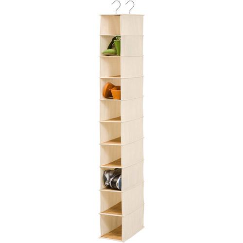 Honey Can Do 10 Shelf Shoe Organizer, Bamboo by Honey Can Do
