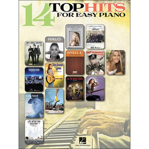 Hal Leonard 14 Top Hits for Easy Piano