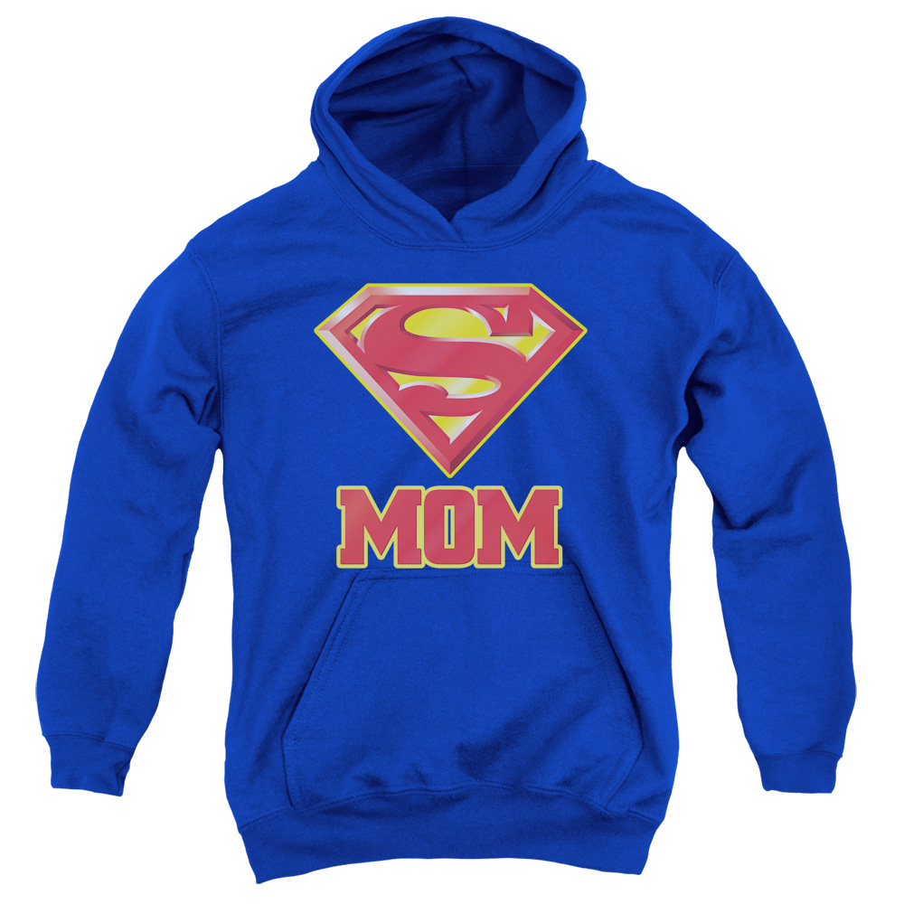 Superman DC Comics Super Mom Big Boys Youth Pull-Over Hoodie