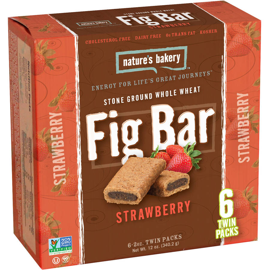 Nature's Bakery Fig Bar, Strawberry, 2g Protein, 6 Ct