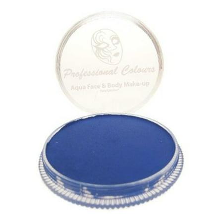 PartyXplosion Aqua Face Paint Refill - Blue Blacklight (10 gm)