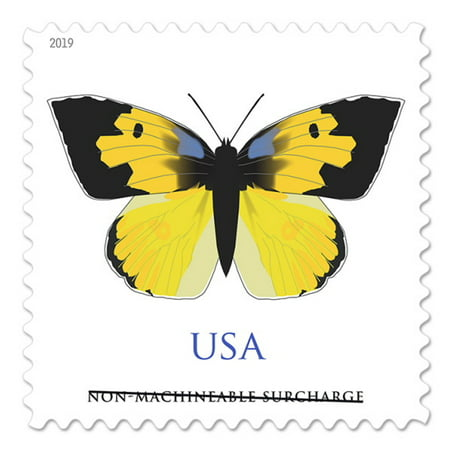 California Dogface Butterfly 1 Sheet of Twenty (Two-ounce) Forever USPS Postage Stamp Celebrate Wedding (20 Stamps)