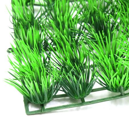 Plastique Vert pelouse Prairie sous-Marine Aquarium Ornement Décor Aquascape - image 2 de 3