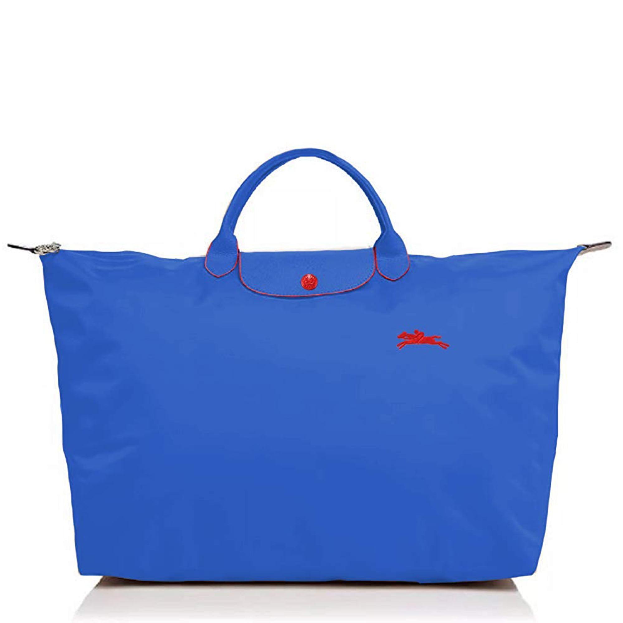 LongChamp Women's Le Pliage Club Travel Bag XL Myosotis Blue - Walmart.com