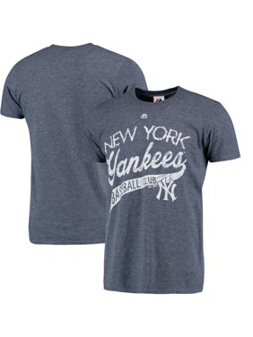 6ffe62148 Product Image New York Yankees Majestic First Time Around Heathered T-Shirt  - Heathered Navy