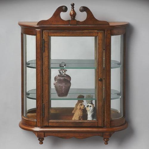 Butler Masterpiece Wall Curio Cabinet