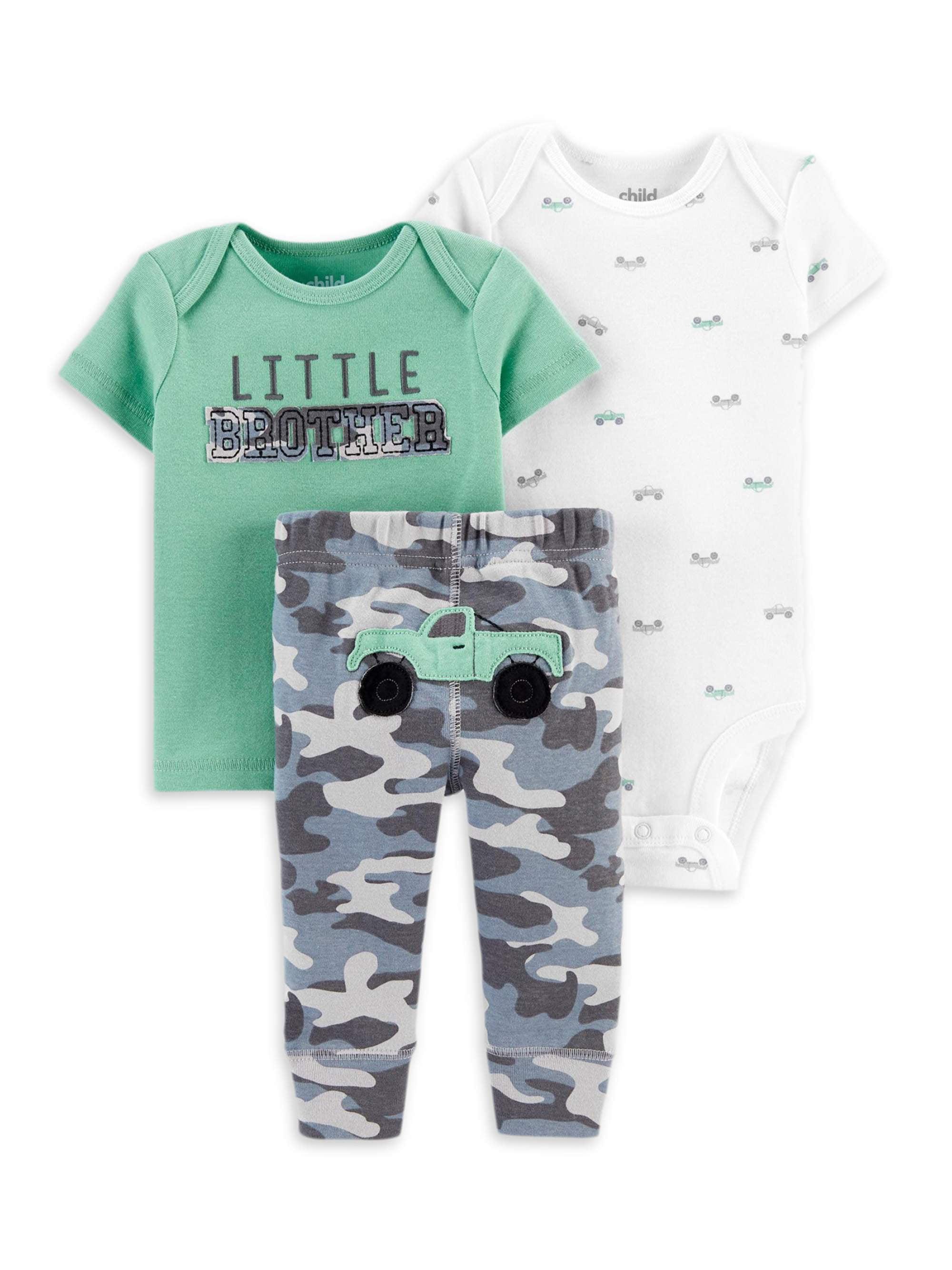 """3 piece newborn outfit W// Zebra /& /""""amazing little one/"""""""