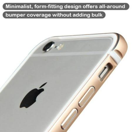 the best attitude 9fdeb 8836a Insten Ultra Slim Aluminum Metal Bumper Case (No Signal Affect) for ...