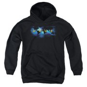 The Amazing Race Faded Globe Big Boys Pullover Hoodie