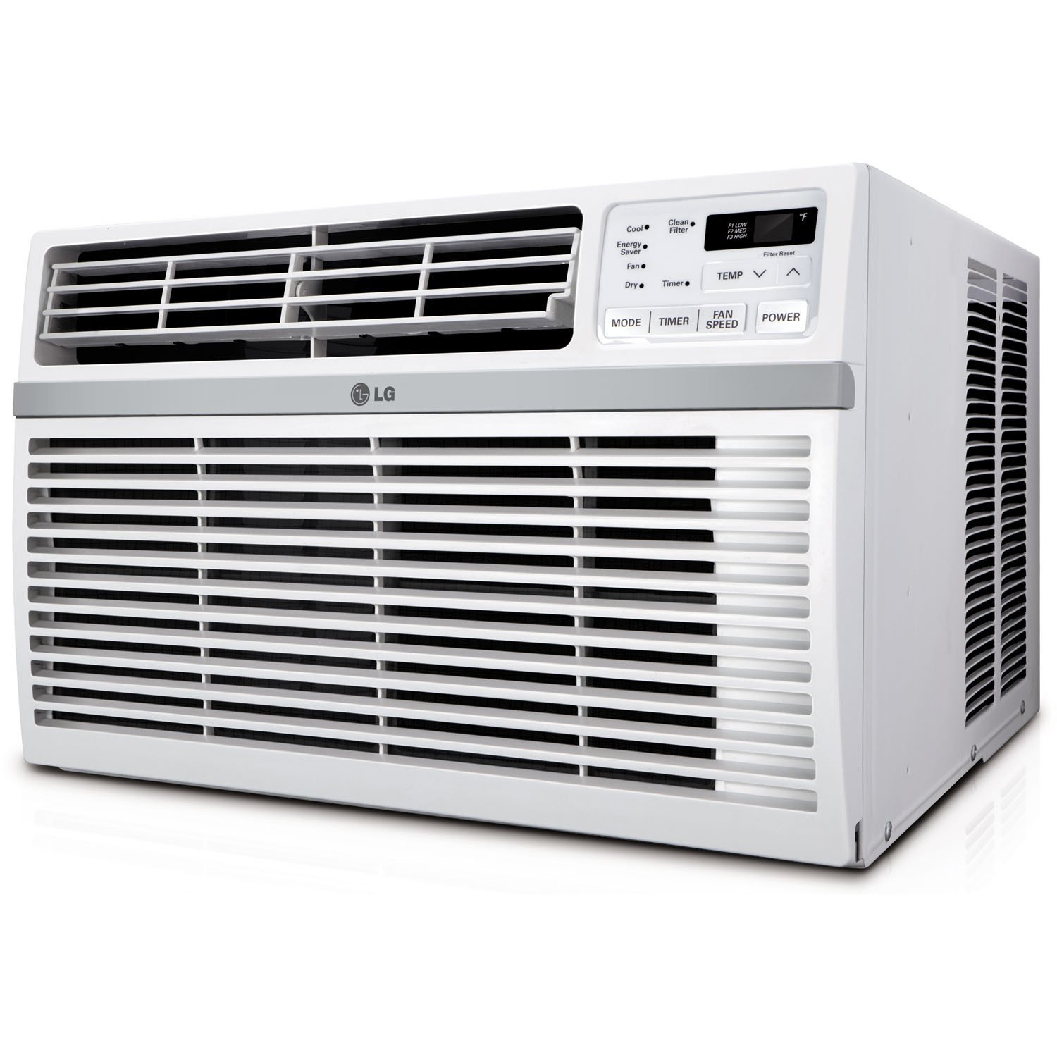 LG 18,000 BTU 230-Volt Window Air Conditioner with Remote, Factory Reconditioned