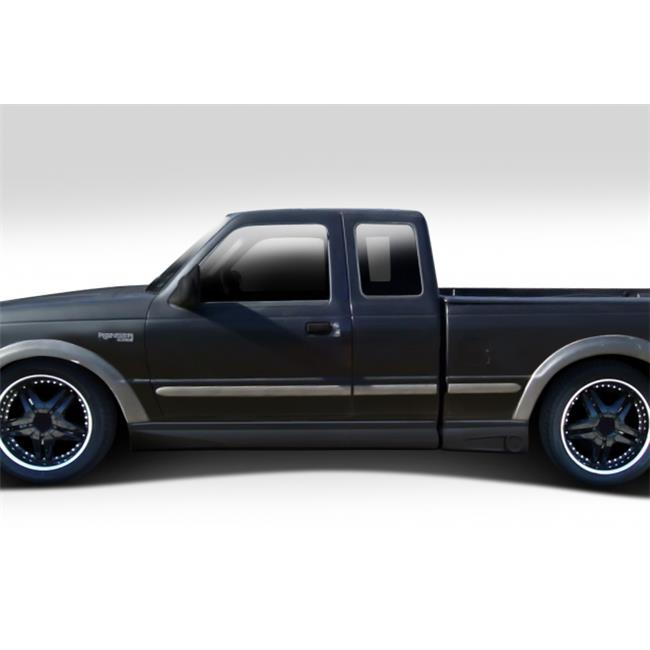 Extreme Dimensions 112056 1993-1997 Ford Ranger Extended Cab Duraflex BT-1 Side Skirt Rocker Panels