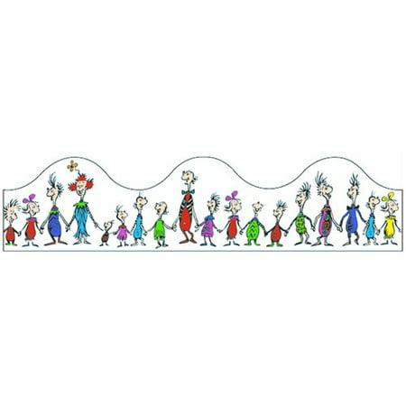 Eureka Classroom Dr Seuss Whoville Whos Trimmer Classroom - Dr Seuss Border