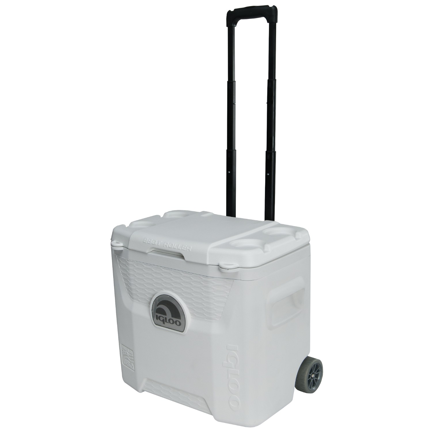 Igloo White 42 Can Marine Quantum Cooler with Wheels