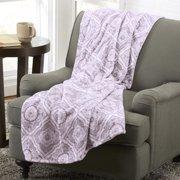 Home Fashion Designs  Alyssa Collection Ultra Velvet Plush Printed Luxury Throw Blanket