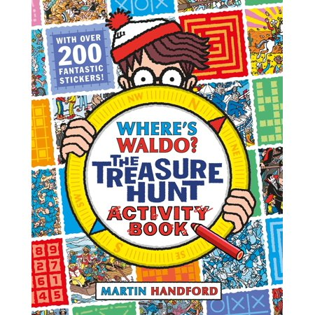 Where's Waldo? The Treasure Hunt : Activity Book](Clues For A Halloween Treasure Hunt)