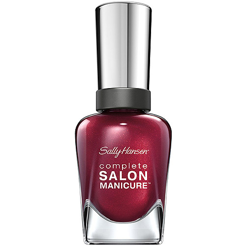 Sally Hansen Complete Salon Manicure Nail Color, Wine Not