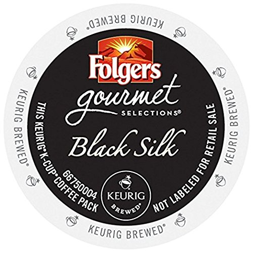 Folgers Gourmet Selections Black Silk K-Cups (96 Count)