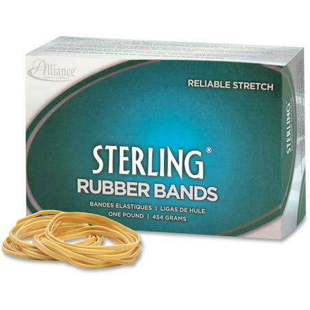 Alliance Rubber Sterling Rubber Bands, #32, 3 x 1/8,1-Lb. Box