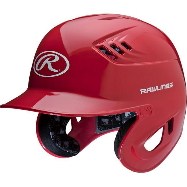 Rawlings 1383961 Youth Matte Batting Helmet, Scarlet
