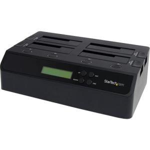 StarTech 4-Bay USB 3.0 eSATA to SATA Standalone 1:3 HDD Hard Drive Duplicator Dock