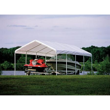 Super Max 18' x 30' White Premium Canopy