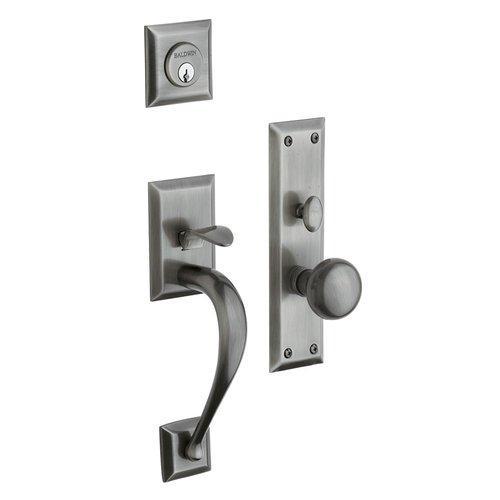 Baldwin  6571.ENTR  Keyed Entry  Concord  Mortise Lock  Single Cylinder  ;Antique Nickel