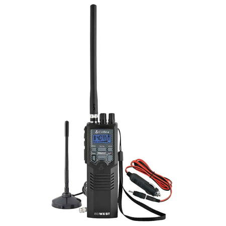 (3 Pack) Cobra HHRT50 Road Trip Cb Radio,2-Way Handheld Cb Radio with Rooftop Magnet Mount Antenna, NOAA Channels, Dual Watch, 40 Channel,