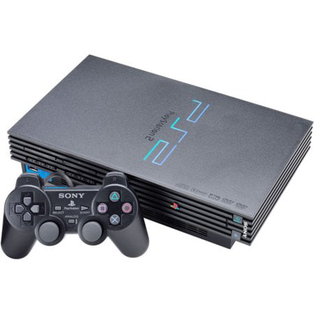 Refurbished Sony Playstation 2 PS2 Game Console by