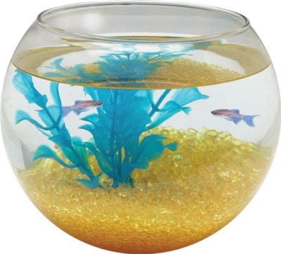 KollerCraft Clear Glass Sphere Fish Bowl, 1 gal