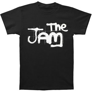 Jam Men's  Spray Logo T-shirt Black