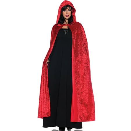 55 Hooded Cloak (Red)