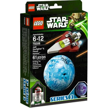 LEGO Star Wars Jedi Starfighter and Kamino Play Set