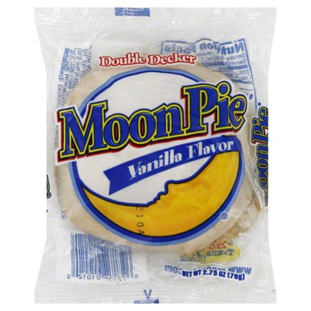 Moon Pie Vanilla 2.75 oz - Halloween Moonpies