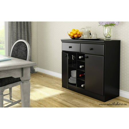 South Shore Morgan Storage Console/Buffet, Multiple Finishes