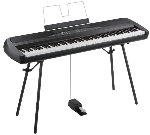Korg SP-280 - 88 Key Piano - Black