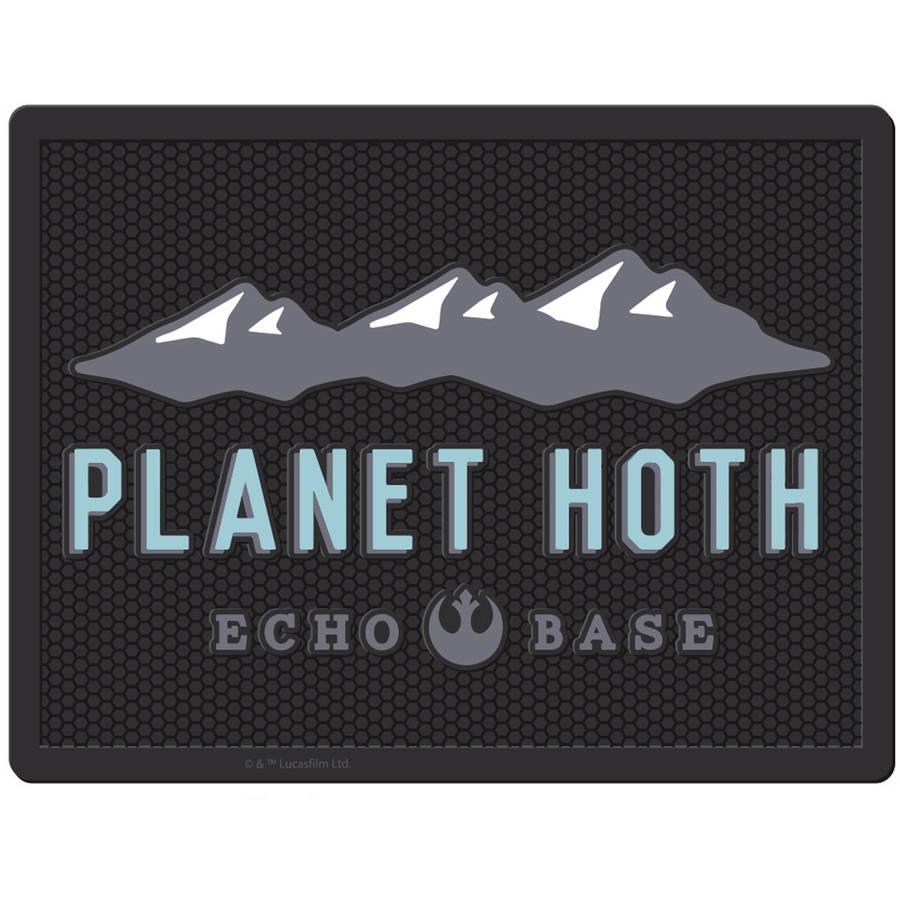 "Plasticolor Star Wars Planet Hoth 18"" x 24"" Utility Mat"