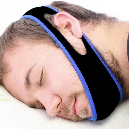 Anti Snoring Chin Strap Stop Snoring Sleep Belt Jaw Support Solution Safety Natural and Instant Snore