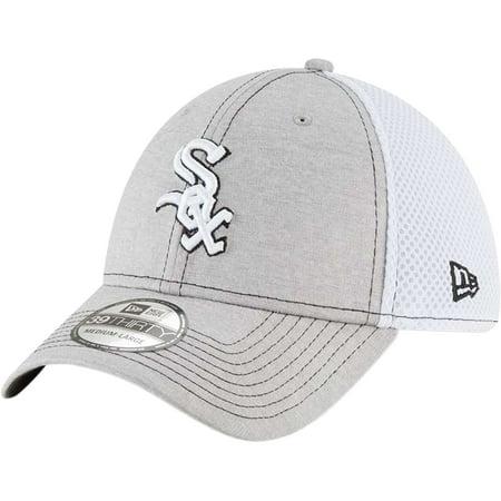 online retailer 24575 ccbda Chicago White Sox New Era Classic Shade Neo 39THIRTY Flex Hat - Gray -  Walmart.com