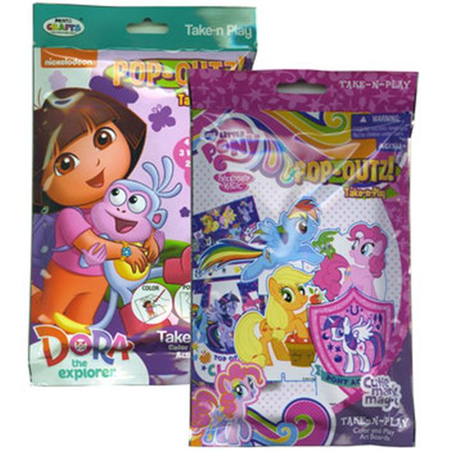Take-N-Play 2266160 My Little Pony & Dora The Explorer