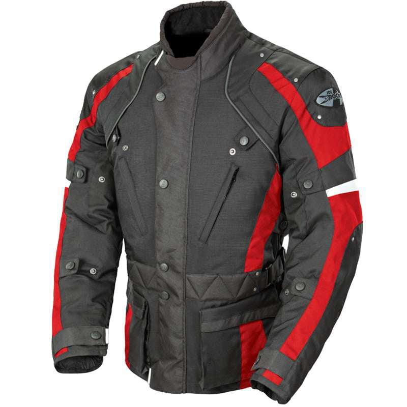 Joe Rocket Ballistic Revolution 2014 Textile Jacket Black/Red