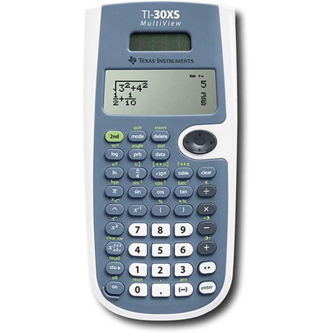 TEXAS INSTRUMENT TEXTI30XSMV Texas Ti-30Xsmv 4-Line - Dual Pwr Scientific Calc