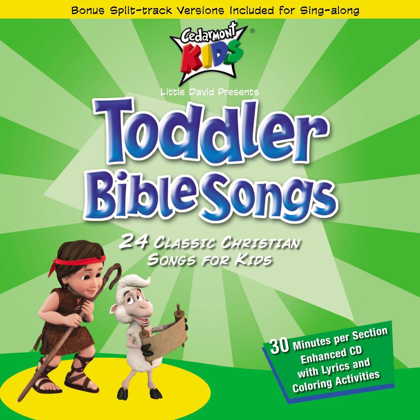 Toddler Bible Songs (Audiobook)