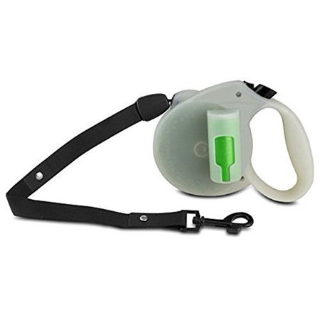 Dog Leash, Green Pick-up Bags Retractable Large Dog Leashes, Glow In The Dark (How Does Glow In The Dark Work)