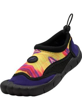 Norty Women's New Tie Dye Water Shoes Aqua Socks Pool Beach Surf Swim Slip On
