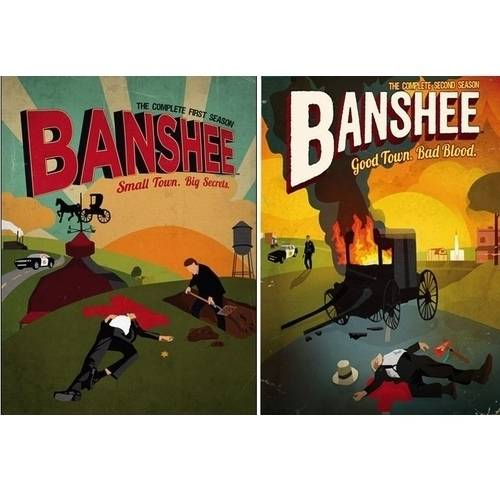 Banshee: The Complete First And Second Seasons (Walmart Exclusive) (Widescreen) by