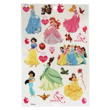 Disney Princess Assorted Character/Design Kids Temporary Tattoos for $<!---->