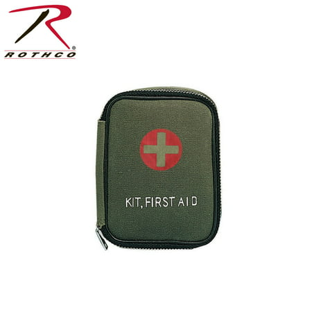 Rothco Military Zipper First Aid Kit, Olive Drab ()