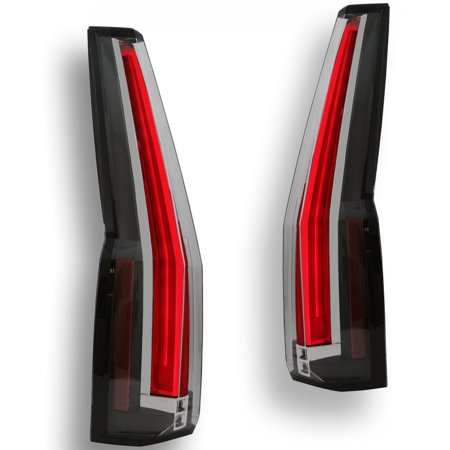 07-14 GMC Yukon Chevy Tahoe- Escalade Style LED Taillights Conversion Upgrade (Led Tail Lights Chevy)